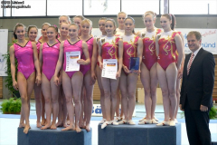 National Team-Cup, Turnen, 2012
