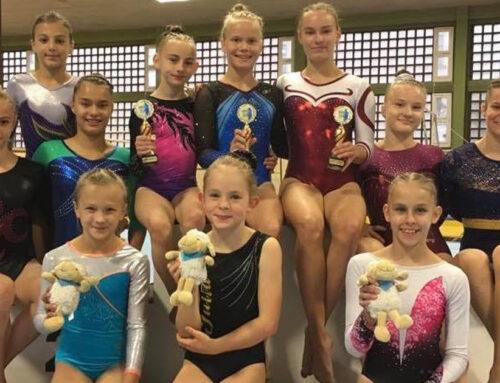 Drei Pokale, fünf Erstplatzierte – Turnerinnen erfolgreich beim 15. Sächsischen Turntalentpokal