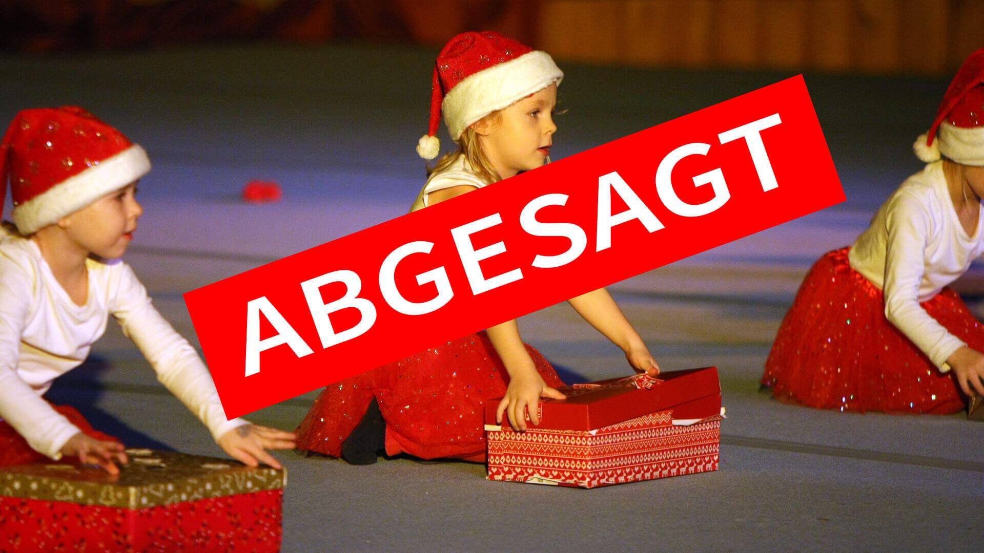 Weihnachtsschauturnen abgesagt