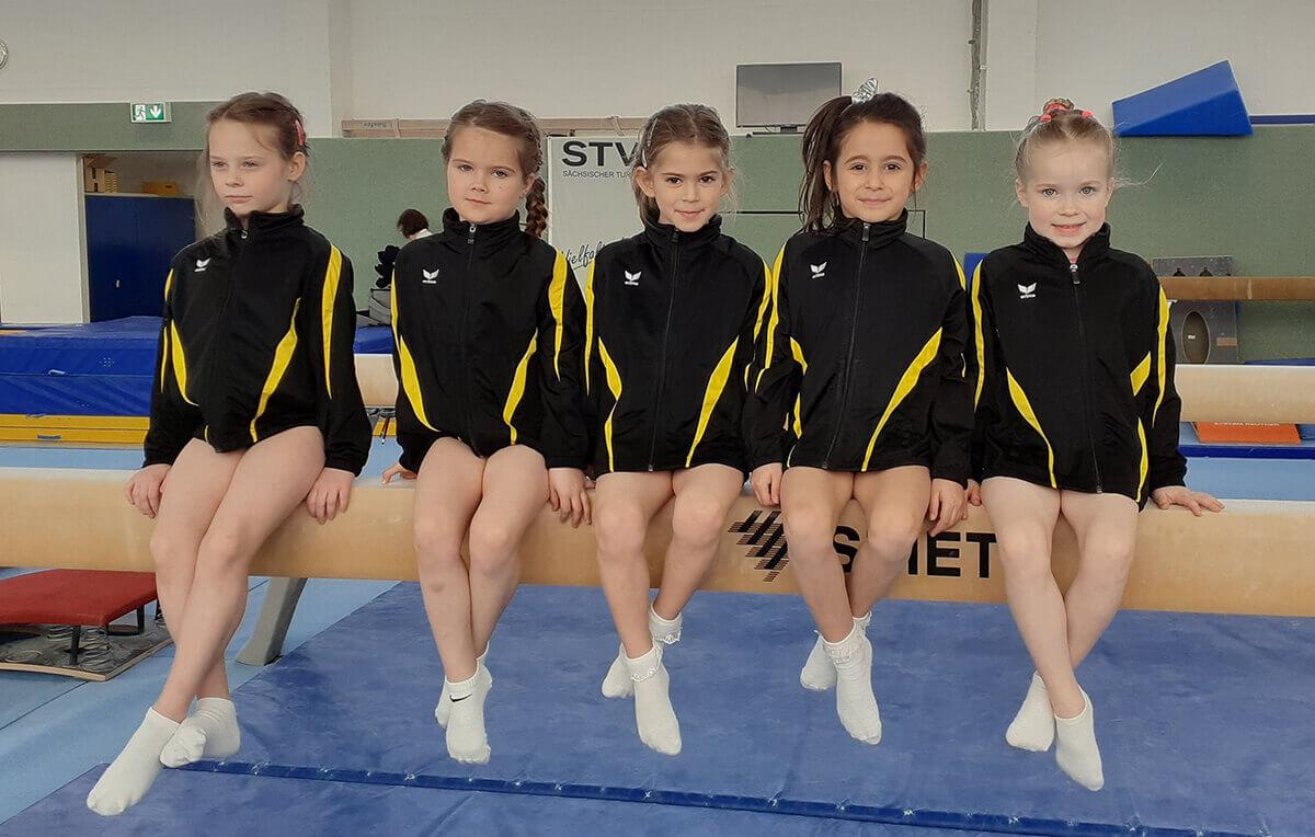 Sportlerinnen der AK6