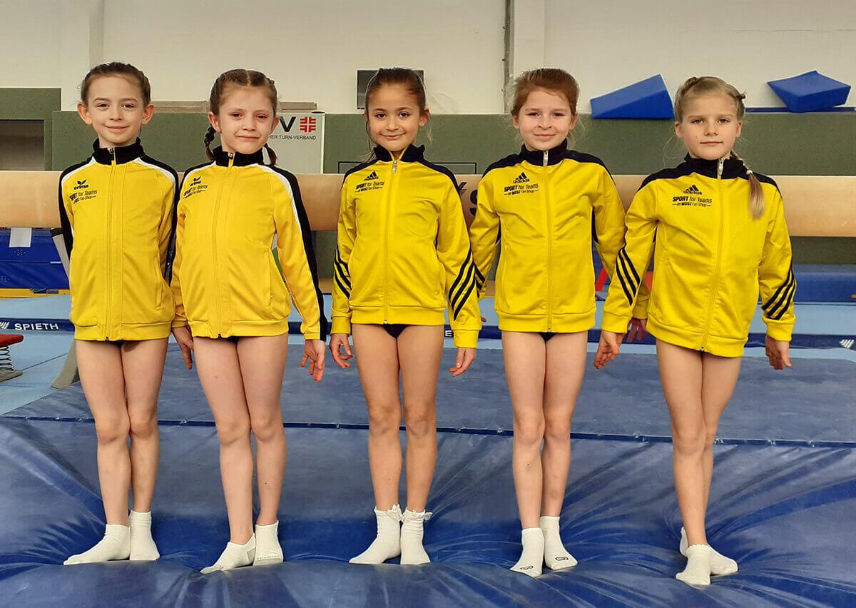 Sportlerinnen der AK8